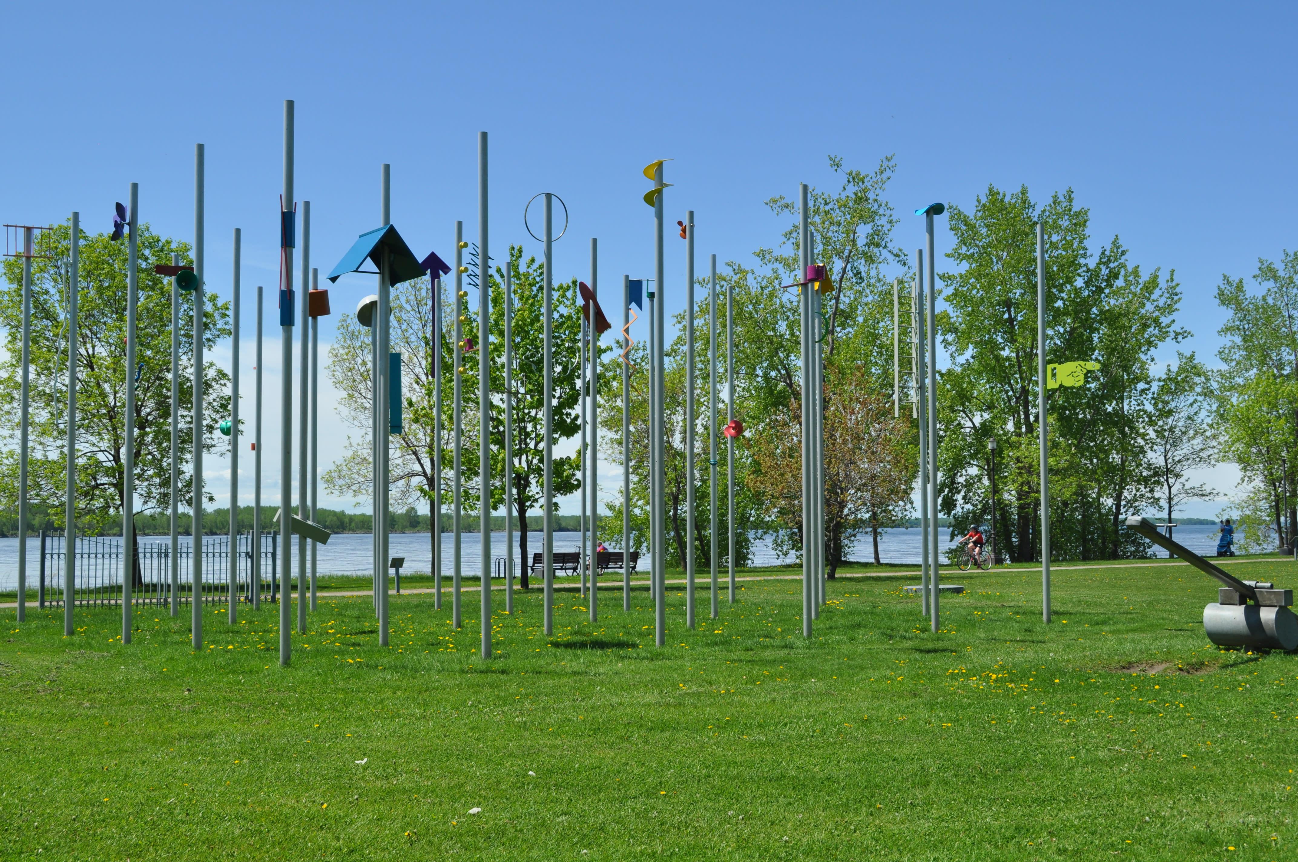 Sculp'tour Musée de Lachine Parc René Lévesque