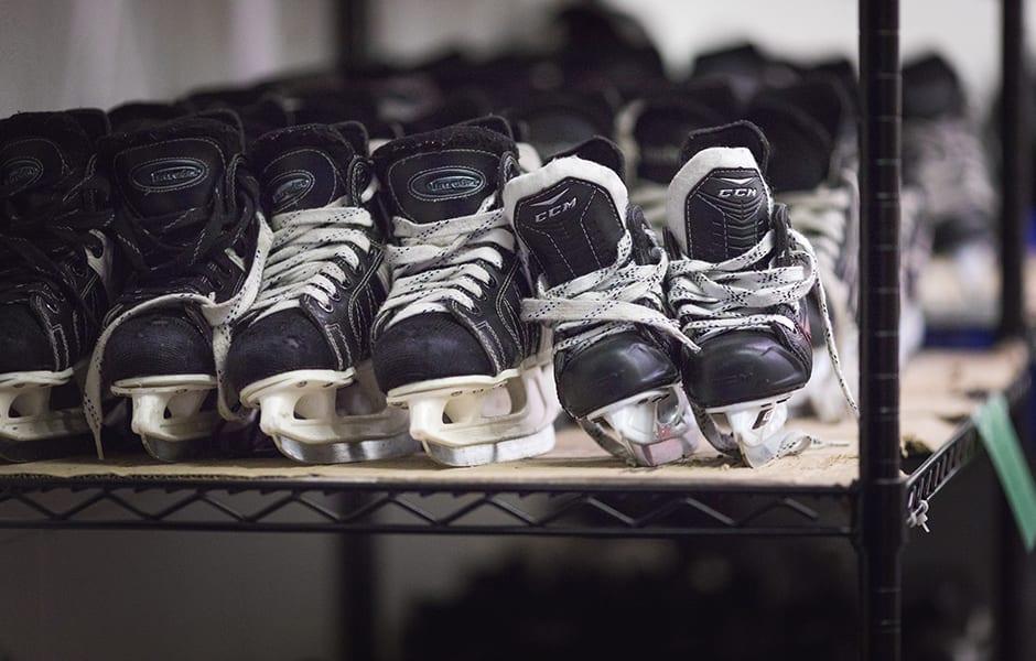 Aréna Camillien-Houde pret gratuit de patins