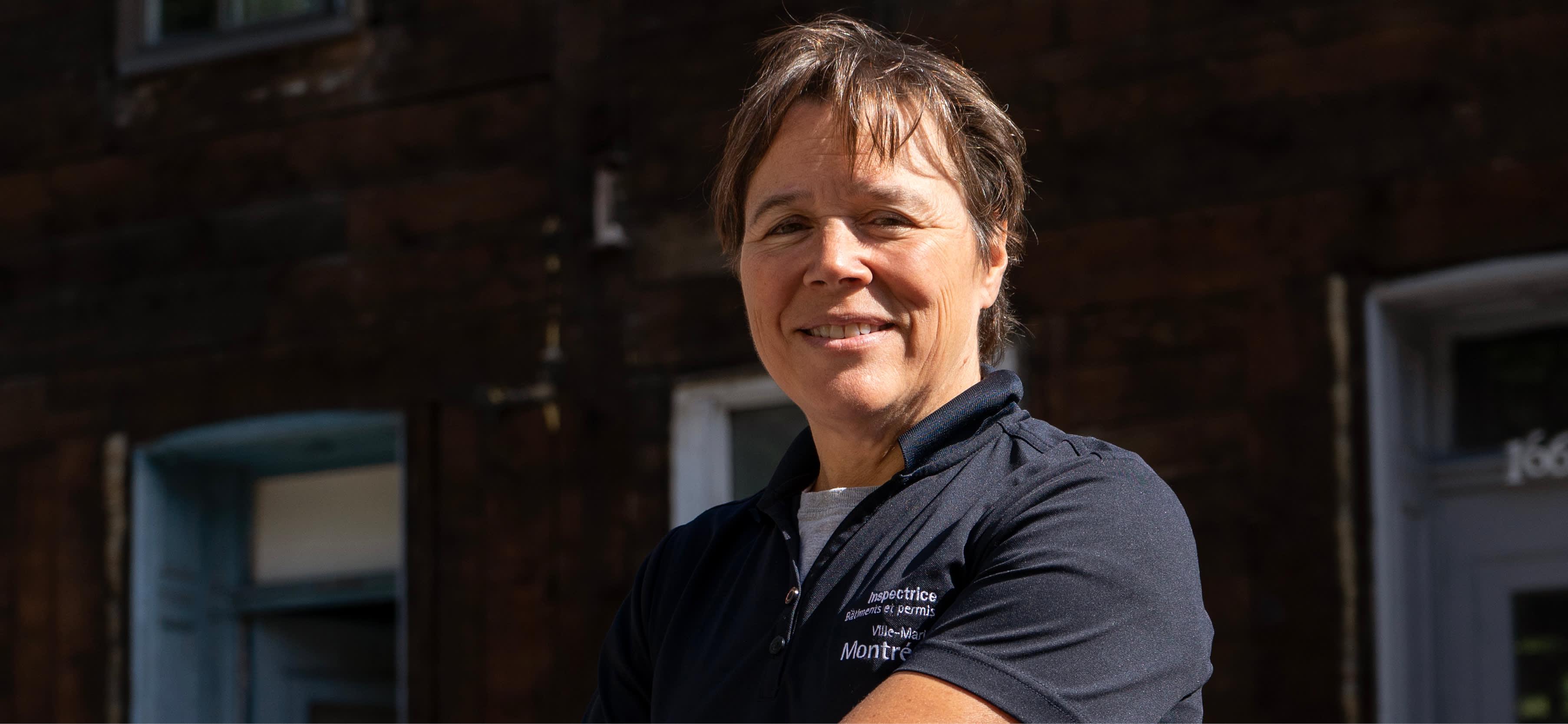 Natalie Brault, inspectrice du cadre bâti à Ville-Marie
