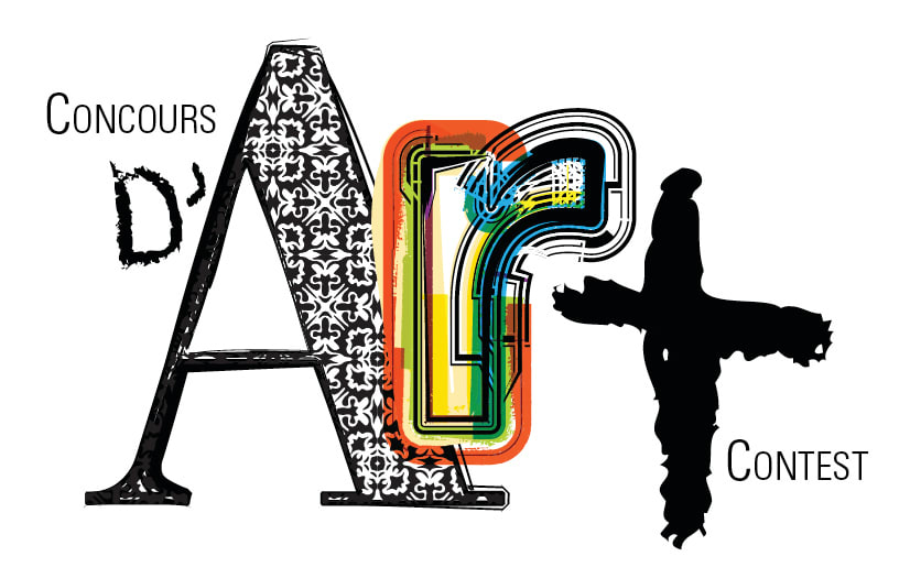 Logo du concours d'art de Pierrefonds-Roxboro