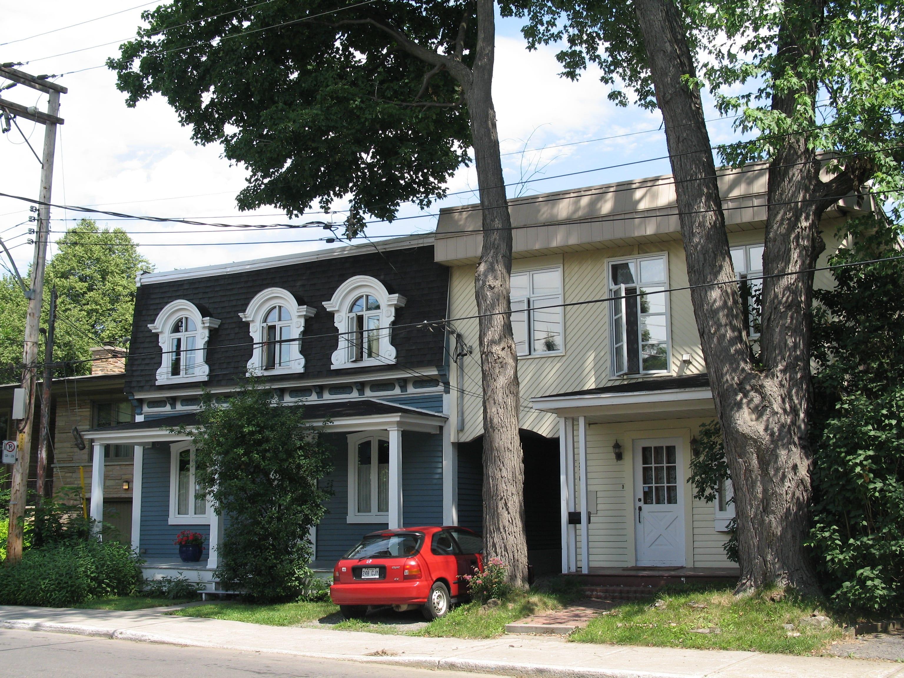 photo de résidences situées avenue somerville