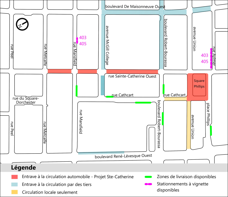zones de livraisons commerciales - 19 mai