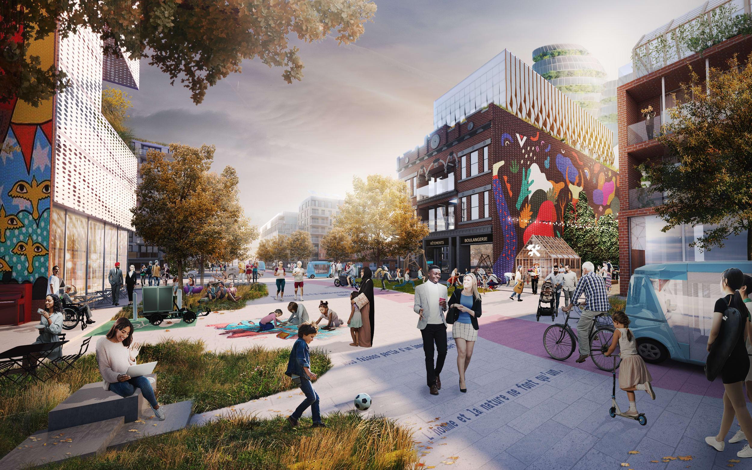 À quoi pourraient ressembler les rues en 2050