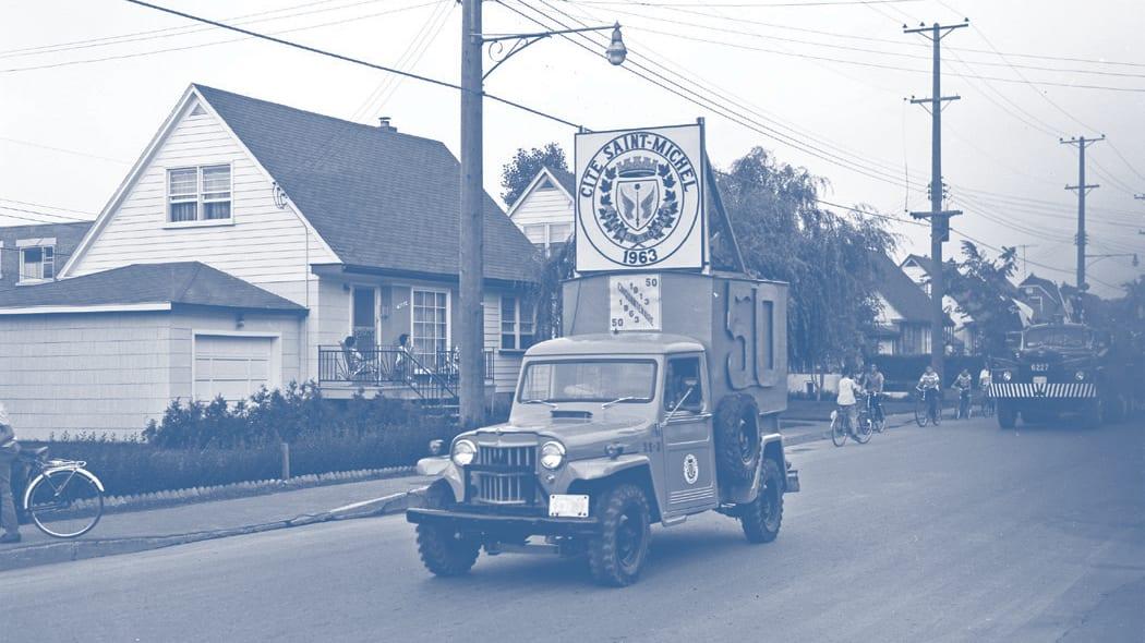 Maison d'inspiration d'après-guerre - Archives