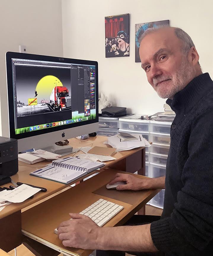 Pierre-Paul Pariseau, artiste numérique