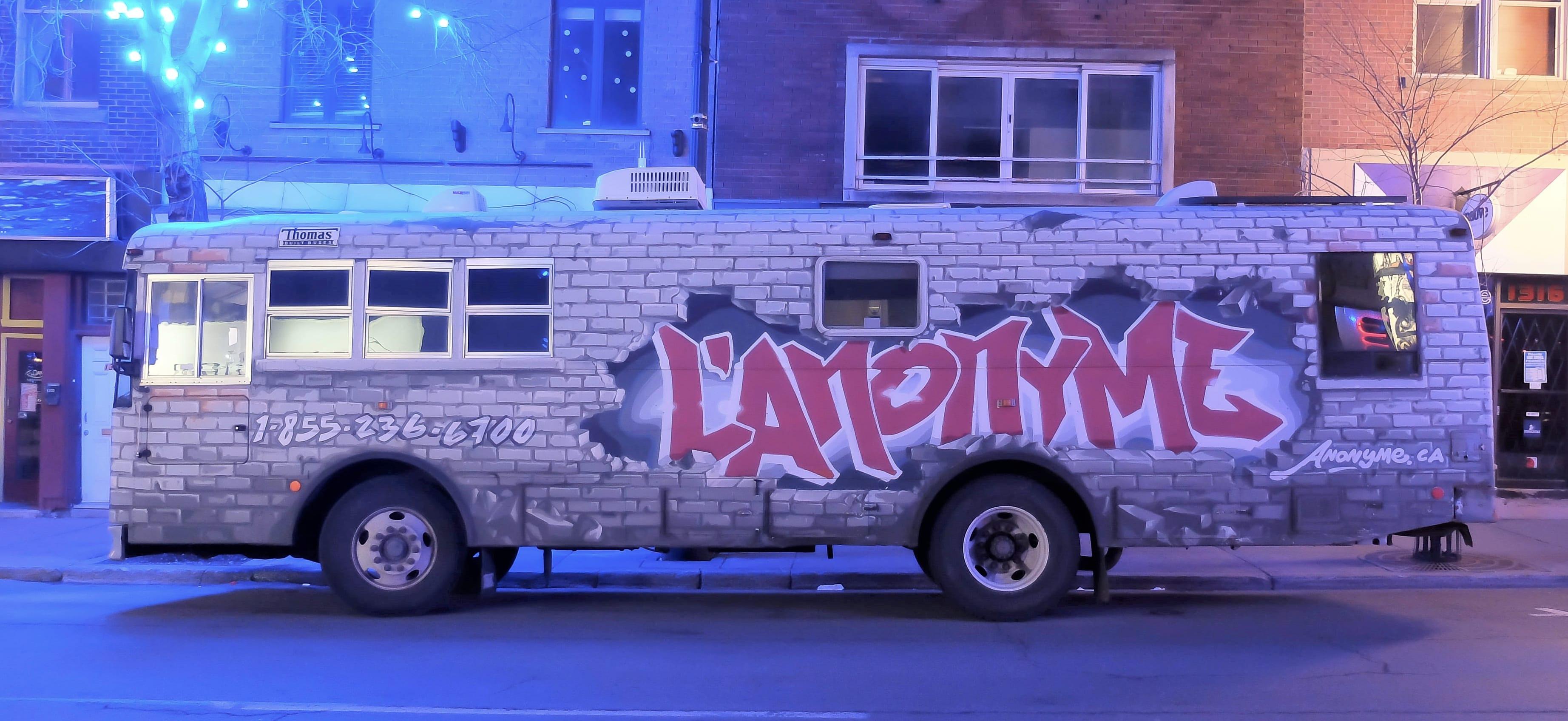 Autobus de L'Anonyme.