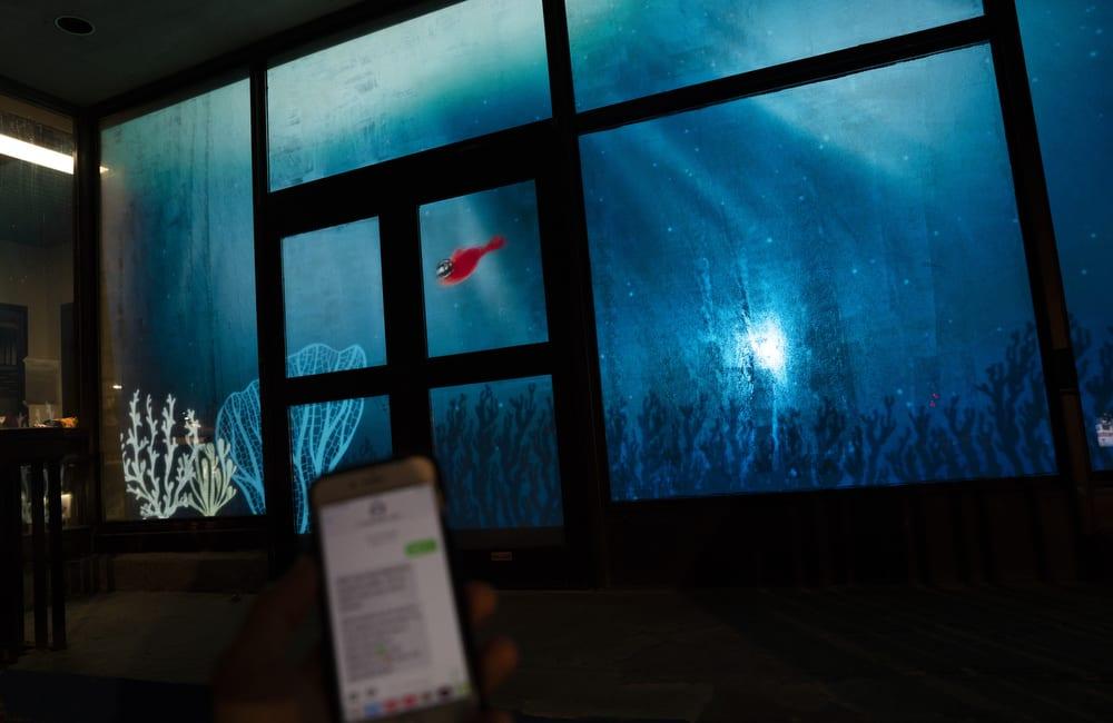 Patrice, de La boîte interactive & Ève Landry (2021). Crédit photo : Vincenzo D'Alto