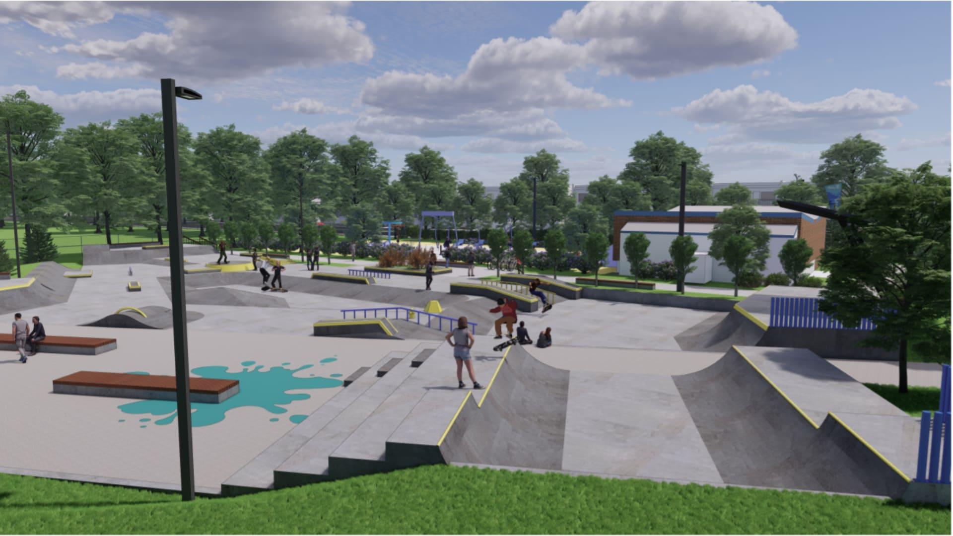 LSL_parc Raymond_skatepark