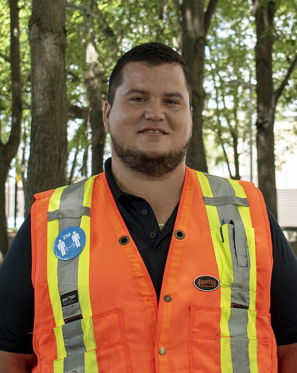 José_Emmanuel Rojas, inspecteur de domaine public