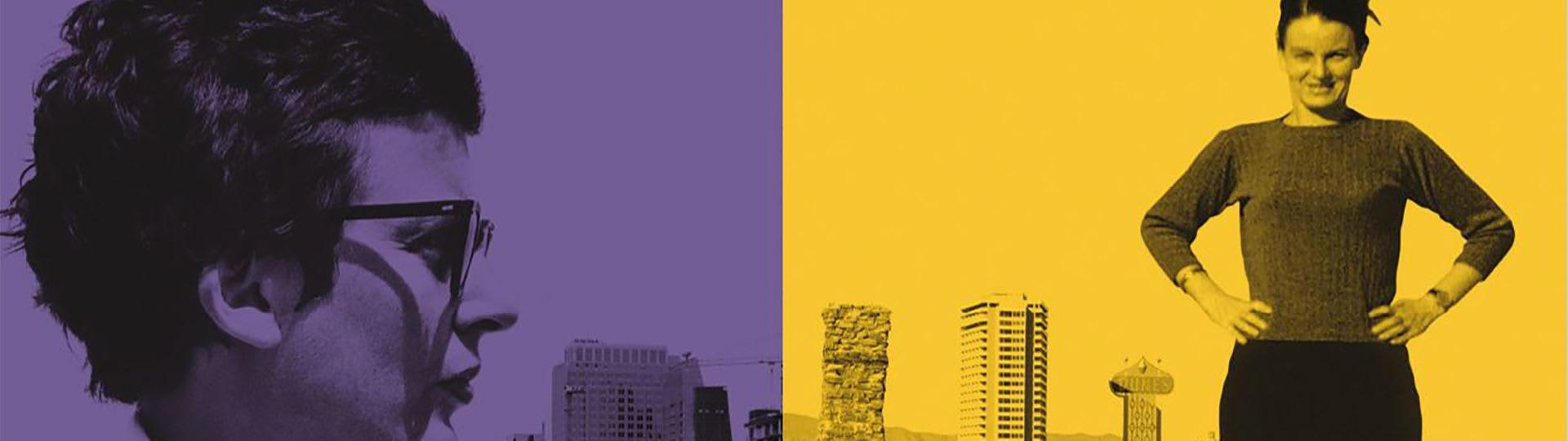Affiche de film «Rêveuses de ville» de Joseph Hillel présenté dans le cadre du FIFA