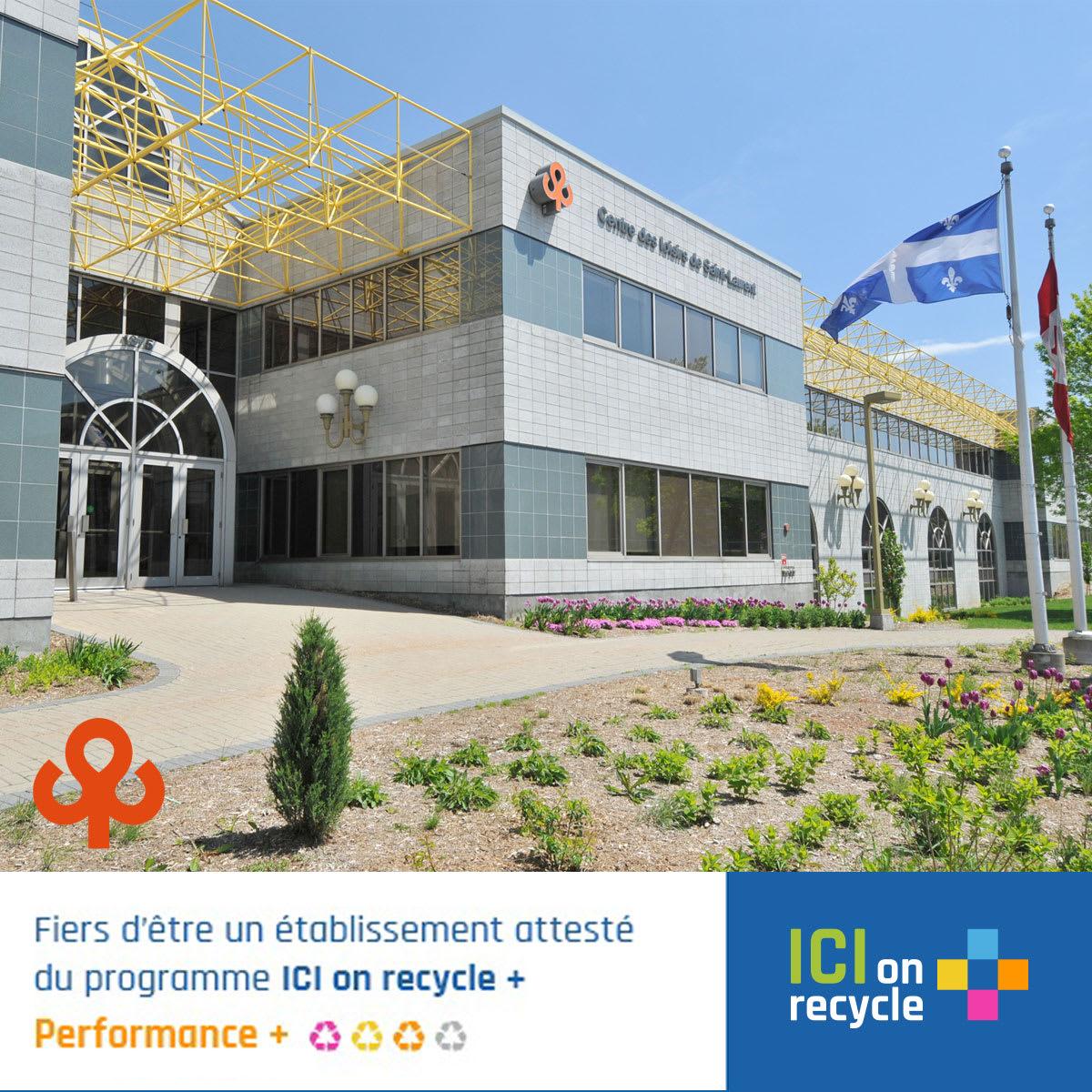 Centre des loisirs - Certification Performance +