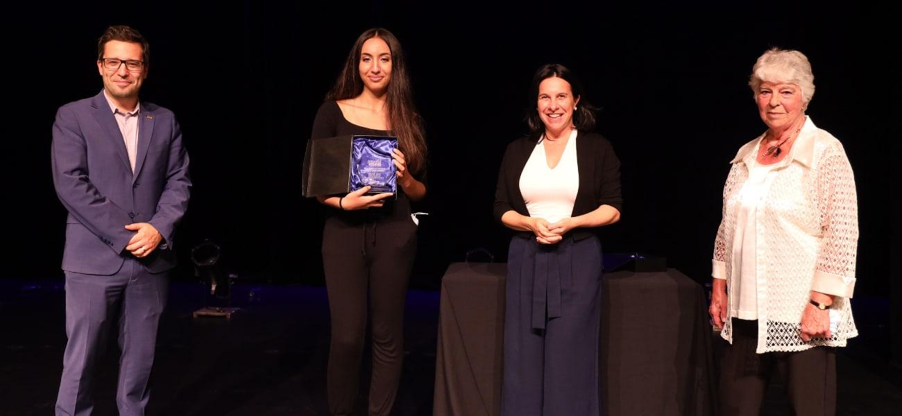 LE Prix Rosario-Demers 2021 décerné à Inès Smaki dans la catégorie Jeunesse