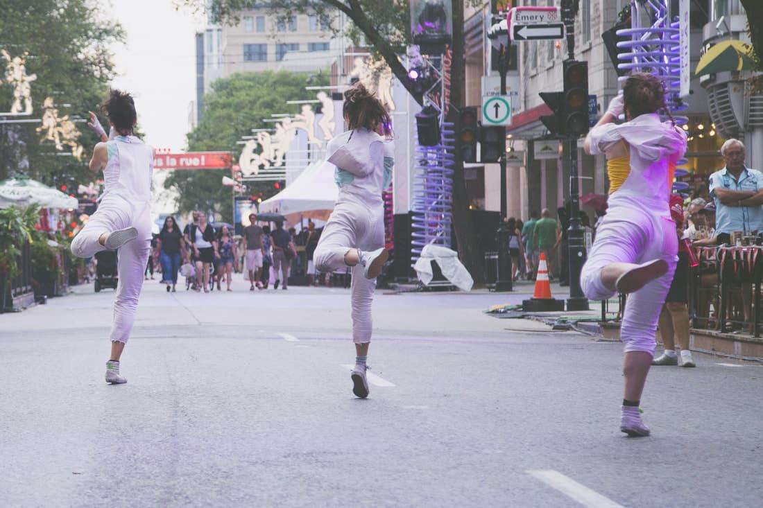 Photo du spectacle Dôme - Ballets de ruelles