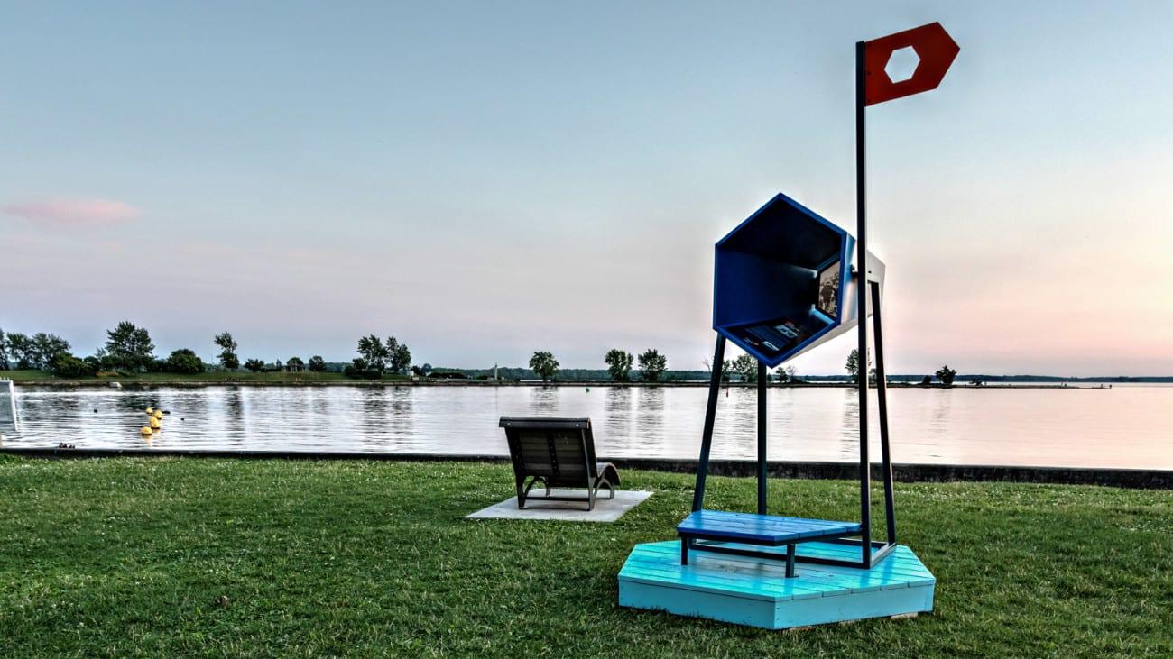 Points de vue - Souvenirs d'été à Lachine.