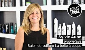 Portrait de Sylvie Aubé