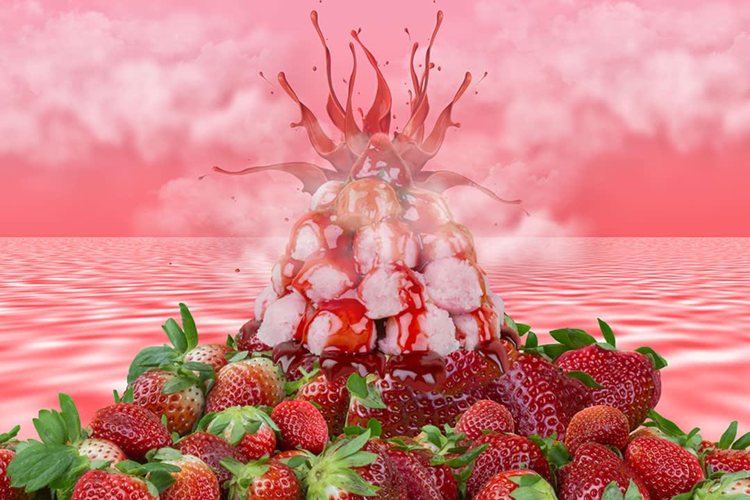 Strawberry Volcano
