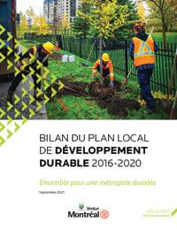 Bilan du Plan local de développement durable 2016-2020 de Verdun