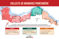 Carte - Zones de collecte des branches (printemps 2021)