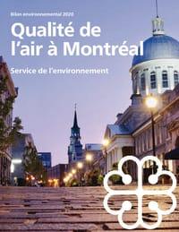 Bilan de la qualité de l'air à Montréal - 2020