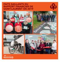 Faits saillants du rapport financier de Saint-Laurent en 2019
