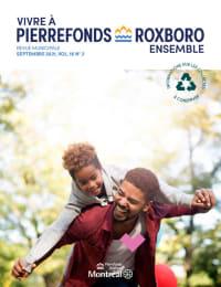 Revue municipale « Vivre à Pierrefonds-Roxboro ensemble » - Septembre 2021