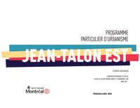 PPU Jean-Talon Est - Résumé