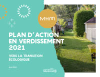 Plan d'action en verdissement 2021 de MHM