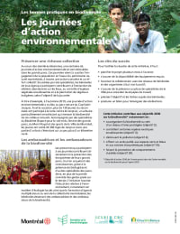 Les journées d'action environnementale