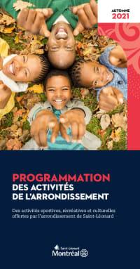 Programmation des activités de l'automne 2021 à Saint-Léonard