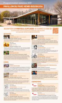 Programmation automne - Pavillon du parc Henri-Bourassa