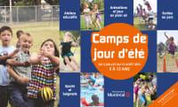dépliant camps de jour été 2021 Montréal-Nord