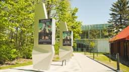 Stèles numériques à Pierrefonds-Roxboro