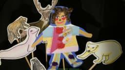 Marionnettes de papier