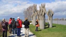 Visite guidée sculp'tour Musée de Lachine Parc René-Lévesque