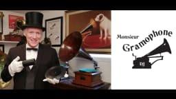 conférence, histoire, musique, gramophone, disques, enregistrement sonore, musée, Lachine