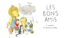 Animaux dessinés par l'illustratrice Marianne Dubuc