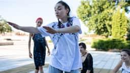 Cours de hip-hop et danses urbaines au parc Félix-Antoine-Savard