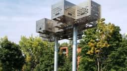 La Canopée œuvre de Philippe Allard-Programme Plein Art