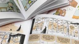 Pages de bandes dessinées