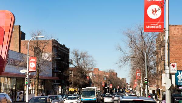 L'avenue Van Horne dans l'arrondissement Outremont à Montréal.