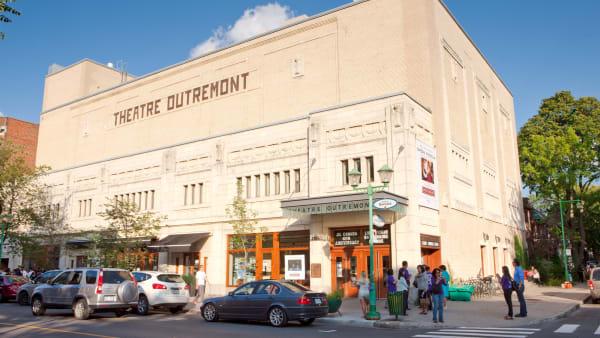 Le théâtre Outremont à Montréal.