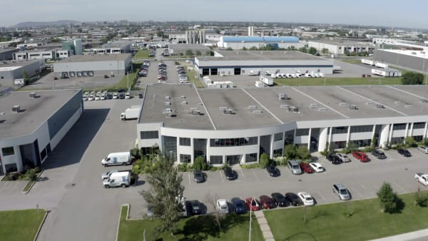 Quartier industriel d'Anjou.
