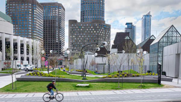 Quartier des spectacles Ville-Marie Montréal