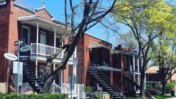 Le quartier Vieux-Saint-Laurent à Montréal.