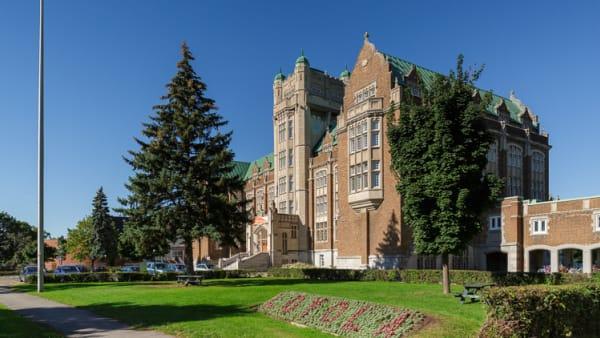 L'université Concordia dans l'arrondissement de Côte-des-Neiges–Notre-Dame-de-Grâce à Montréal.