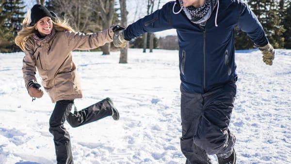 Déclenchement d'une opération de chargement de la neige