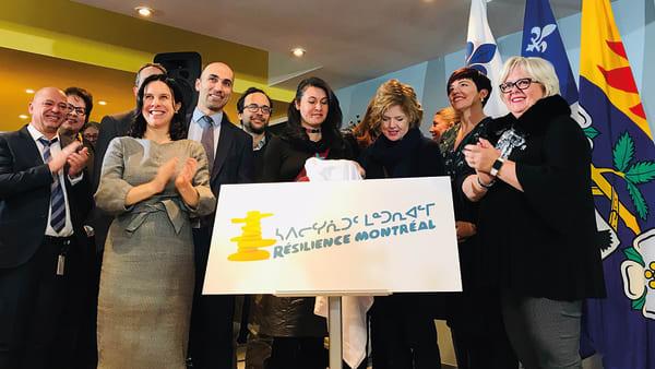 Inauguration du centre Résilience Montréal