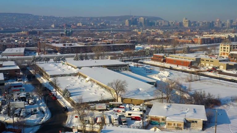 Le site du 4000, rue St-Patrick dans Le Sud-Ouest - Réinventer Montréal