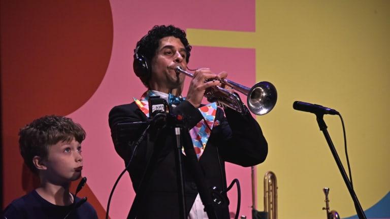Fred Solo, trompettiste.