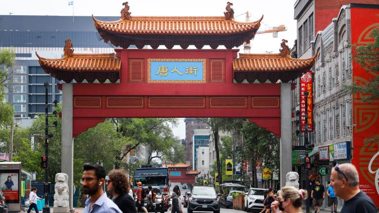Le Quartier chinois à Montréal